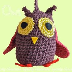 Birds of a feather: Christmas decorations DIY: owl