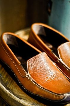 "100% Bison Leather Driving Moccasin - Use the deal ""georgia"" to receive 10% off!"