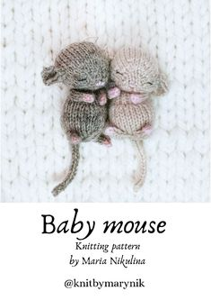 Animal Knitting Patterns, Crochet Patterns Amigurumi, Knitted Toys Patterns, Free Baby Knitting Patterns, Beginner Knitting Projects, Crochet Projects, Loom Knitting, Free Knitting, Knitting Toys Easy