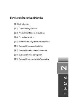 """LA CAJA MÁGICA DE LA """"SEÑO"""" MERCEDES: EVALUACIÓN DE LA DISLEXIA"""