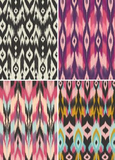 New: Bohemian Tribal Fabrics