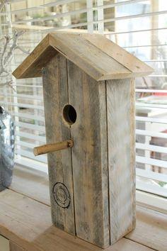 Vogelhuis XXL van sloophout | Nieuw toegevoegd | Tante Jo & Zo