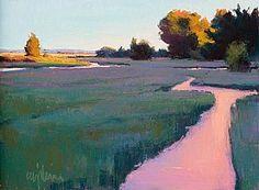 SUNSET by Susan Ogilvie Pastel ~ 12 x 16
