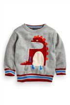 Dino Character Jumper (3mths-6yrs)