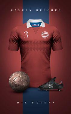 Designer cria camisas clássicas para grandes clubes da América do Sul e  Europa 215a20a3820d6