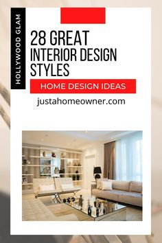Just A Homeowner--Interior Design Styles