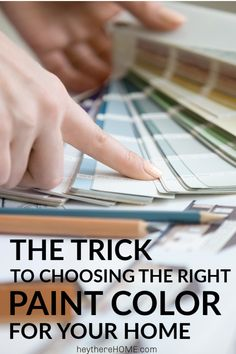 The Trick to Choosing the Right Paint Color + 12 Perfect Neutral Paint Colors - the base for your whole home color palette are your neutral paint colors. Don't get stuck with the wrong one. Click through to learn this simple trick first!  #paint #paintcolor #neutralpaint #decor #decoratingideas #diy #diyhomedecor #homedecor #homedecorideas #diydecor #renovation #design #homeimprovement #walldecor  via @heytherehome