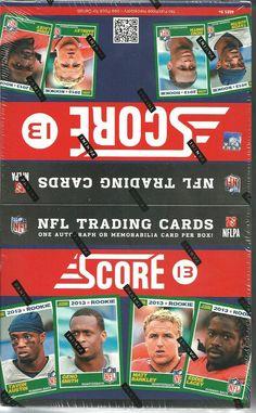 2013 Score NFL Trading Cards 36 Packs per box Football Trading Cards, American Football, Scores, Nfl, Packing, Ebay, Bag Packaging, Football, Nfl Football