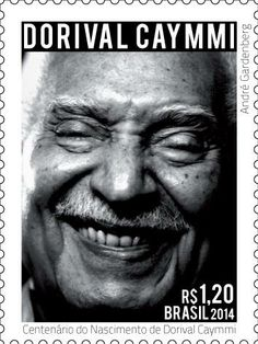 30/05/2014 - Selo em Homenagem ao Centenário de Nascimento de Dorival Caymmi.