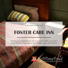 Foster Care Inn Foster Care, Kids Bedroom, The Fosters, Tired, Bed Pillows, Children, Fun, Blog, Pillows