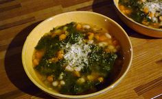 For Love of the Table: Butternut Squash, Kale & White Bean Soup