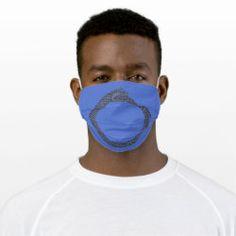 Cloth Face Mask OUROBOROS black on blue Blue Face Mask, Ancient Symbols, Sensitive Skin, Masks, Ear, Future, Clothes, Black, Outfits
