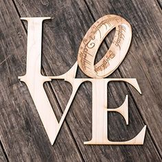 Love Sign - The One Ring - The Geek Collection