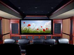 show us your color schemes | home theater | pinterest | basements