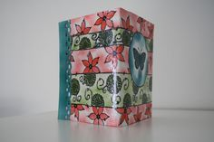Scrapbooking mini album papillon encres stampin'up