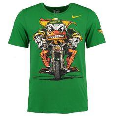 College Oregon Ducks Nike Authoritative Tri-Blend T-Shirt - Green