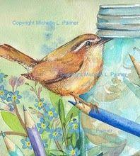 Sweet Little Wren - by Michelle Palmer