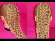 TRENZA EXTENDIDA ó ESCALERA | EXTENDED BRAID | LADDER BRAID | VIRIYUEMOON - YouTube