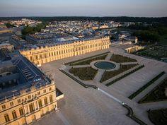 Vue aérienne du domaine de Versailles par ToucanWings - Creative Commons By Sa 3.0 - 006 - Château de Versailles — Wikipédia
