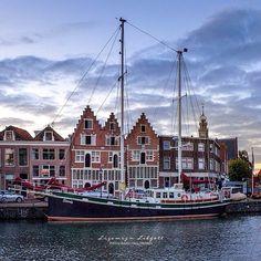 The Dutch city Hoorn Holland Netherlands, San Francisco Skyline, Dutch, Cathedral, City, Building, Instagram Posts, Photography, Travel