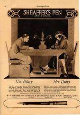 *1920 SHEAFFER PEN SUMMER LOVE COLE PHILLIPS ILLUSTRATOR