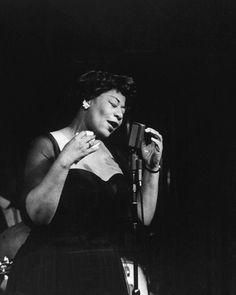 Ella Fitzgerald, 1950s.