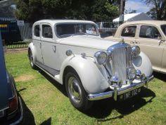 1949 Rover P3 Sports Saloon Quite elegant.