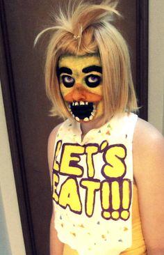 Chica FNAF - Makeup tutorial