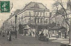 PARIS. Boulevard Saint-martin. Théâtre de l'Ambigu. Vers 1900