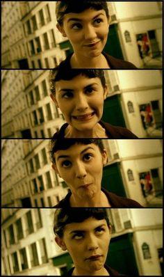 ¡Si Amélie prefiere vivir en un sueño y seguir siendo una jovencita introvertida tiene todo el derecho a estropear su vida!  Amelie. I loved this movie