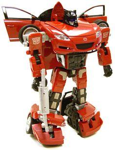 Transformers Binaltech BT-08 Meister (Jazz) (Red)