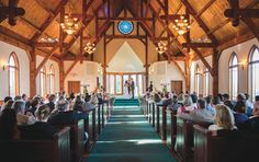Quaint church wedding. View more from this sunny summer East Tennessee wedding at @whitestoneinn! Pics by @TonyaDamron1 | The Pink Bride® www.thepinkbride.com #knoxvillewedding #tennesseewedding