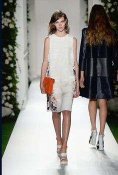 Look 26: Mulberry Spring Summer 2014 #LFW