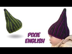 Slip stitch crochet - Pixie Babyhat - (bosnian crochet) english version - YouTube