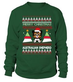 # AUSTRALIAN SHEPHERD Ugly Christmas Swea .  HOW TO ORDER:1. Select the style and color you want: 2. Click Reserve it now3. Select size and quantity4. Enter shipping and billing information5. Done! Simple as that!TIPS: Buy 2 or more to save shipping cost!This is printable if you purchase only one piece. so dont worry, you will get yours.Guaranteed safe and secure checkout via:Paypal | VISA | MASTERCARD