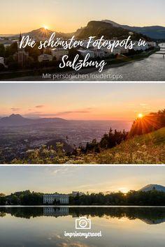 Salzburg gilt absolut zu Recht als eine der schönsten Städte der Welt. Kein Wunder, dass die Fotomöglichkeiten in der Mozartstadt geradezu endlos sind. Wo du die besten Fotospots in Salzburg findest, verrate ich dir in diesem ausführlichen Beitrag! New York City Guide, New York City Travel, Salzburg, Tricks, Travel Guide, Countries, Things To Do, Highlights, Box