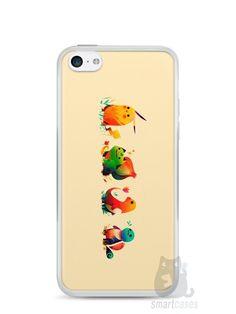 Capa Iphone 5C Pokémon #1 - SmartCases - Acessórios para celulares e tablets :)