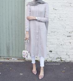 Hijab Style Dress, Modest Fashion Hijab, Modern Hijab Fashion, Casual Hijab Outfit, Islamic Fashion, Hijab Chic, Muslim Fashion, Modest Outfits, Fashion Outfits