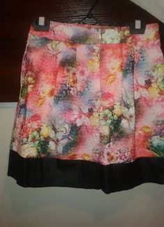 Kup mój przedmiot na #vintedpl http://www.vinted.pl/damska-odziez/spodnice/10084218-rozowa-wielobarwna-spodnica-kwiaty-38