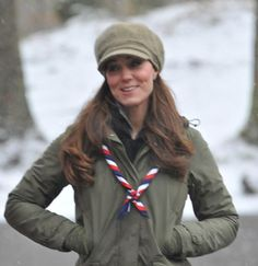 Duchess of Cambridge, Visiting Scout troops March 22, 2013