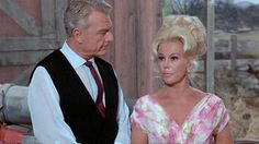 "Eva Gabor & Eddie Albert in ""Green Acres"""