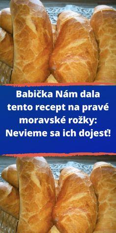 Czech Recipes, Ethnic Recipes, Czech Desserts, Bread Dough Recipe, Good Food, Yummy Food, Cheesecake Recipes, No Bake Cake, Hot Dog Buns