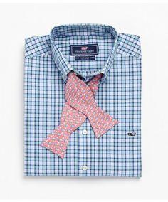 @vineyardvines Greenway Island Plaid Slim Fit Tucker Shirt!  www.keenelandgiftshop.com
