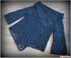 Gilet crochet - explications gratuites