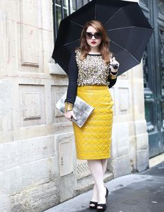 Paris Fashion Week Spring Summer 2013 Street Style   ELLE UK