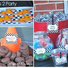 Cars 2 Party {Boys Birthday Party Ideas) b-man birthday