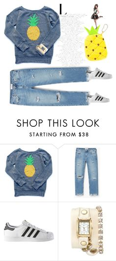 """cool"" by remooooo ❤ liked on Polyvore featuring MANGO, adidas and La Mer"