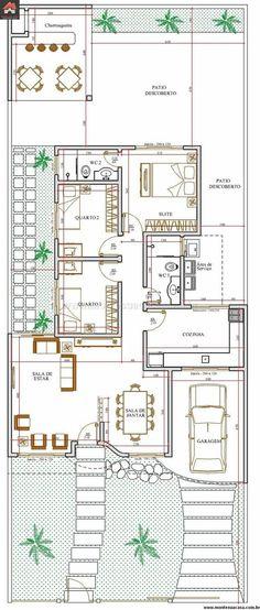 Casa 2 Quartos - 101.73m²