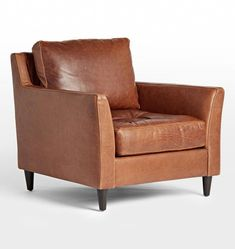 Blend comfort and style by choosing your next pieces from the Hastings living room furniture collection. You'll find exactly what you need to enhance your space. Brown Leather Chairs, Brown Leather Recliner Chair, Leather Chair With Ottoman, Leather Sofa, Leather Lounge, Brown Sofa, White Dining Chairs, Dining Room Chairs, Office Chairs