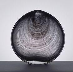 Minimalist Scandinavian Glass Vessels by Tobias Møhl #stylepark #minimal #black